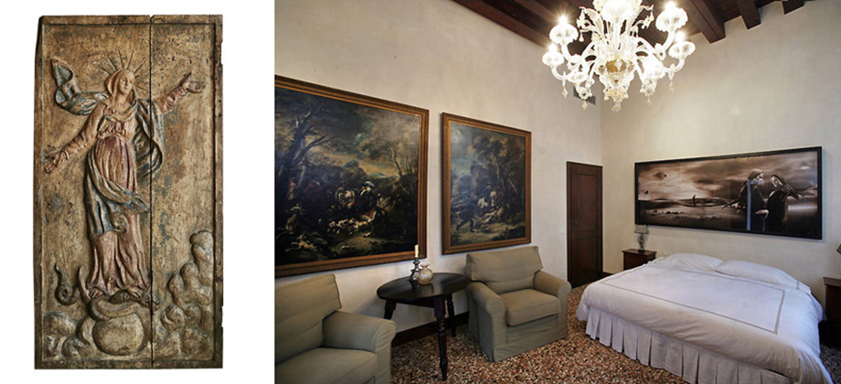 Accommodation for large family in Venice